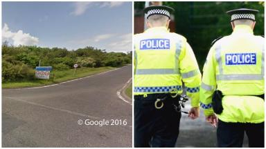 Crash: The motorcyclist was injured near the slip road off Lasswade Road.