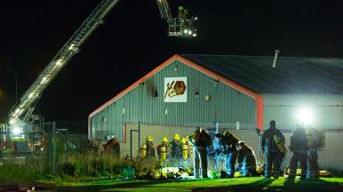 Harley's: Macduff bowling alley badly damaged in blaze.