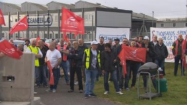 Concerns: Workers want assurances on redundancy payments.