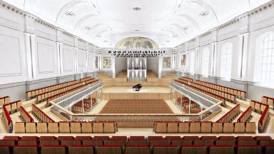 Music Hall: The venue is being upgraded in a £6.7m project.