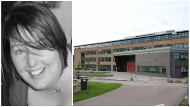 Lynsey Haycock: The teacher died from medical complications.
