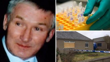 DNA find: Brian McKandie was beaten to death at his home.