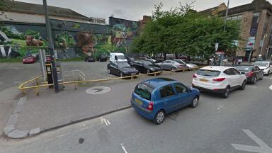 Car park: Site in Merchant City to become new 400-bedroom hotel.