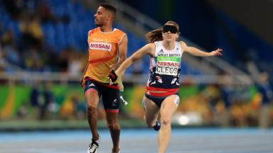 Libby Clegg: Won T11 100m in Rio.