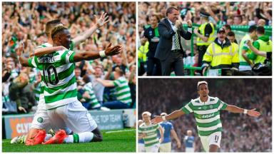 Comprehensive: Celtic claimed the win in style.