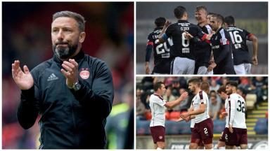 Derek McInnes, Dundee, Hearts