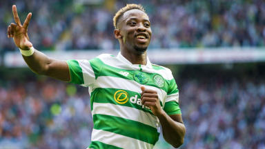 Moussa Dembele ready to lead the line against Barcelona