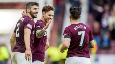 Scottish Premiership highlights: Hearts 3-1 Hamilton