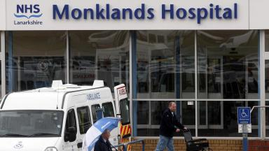 Accident: Alison Clark was a nurse at Monklands Hospital in Airdrie.