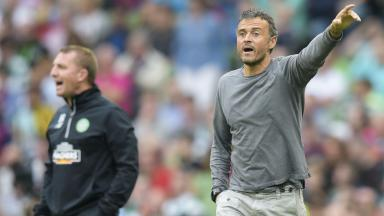Barcelona manager Luis Enrique is a fan of Brendan Rodgers' coaching style.