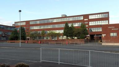 Chemical spill: No pupils were in the school when it happened.