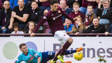 Tony Watt was deemed to have dived but his club disagree.