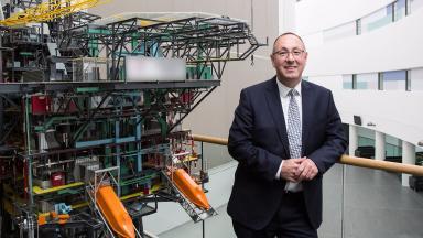 RGU: Paul de Leeuw, director of Oil and Gas Institute.