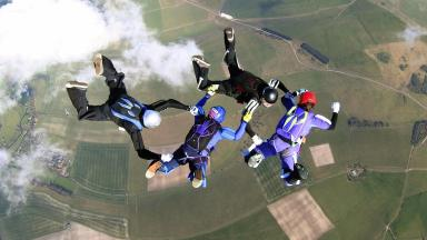 File photo of a jump at Netheravon in Wiltshire.