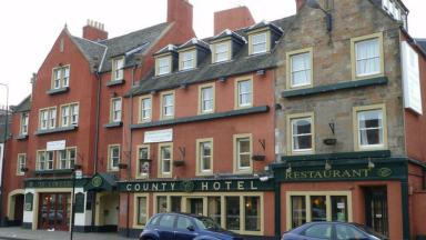 Theft: Motorbikes were stolen from two tourists staying at The County Hotel in Dalkeith.