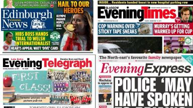 Evening papers: Tuesday's headlines.