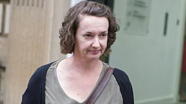 Hearing: Pauline Cafferkey will face the panel for a second day.