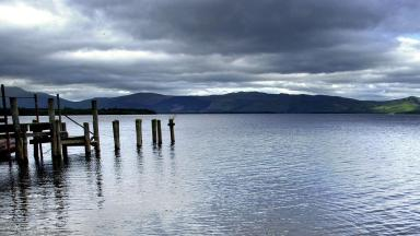 Loch Lomond and the Trossachs National Park gv. Image from PA