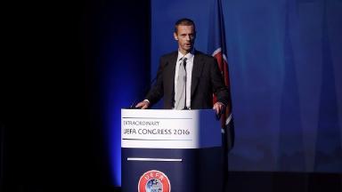 Aleksander Ceferin is the new head of European football's governing body.