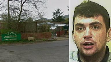 Raid: Jay Potter was jailed for his part in the 'appalling' incident.