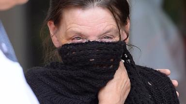 Susan Aucott arrives at court for sentencing