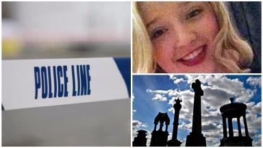 Dione Melville: Headstone was vandalised (file pics).