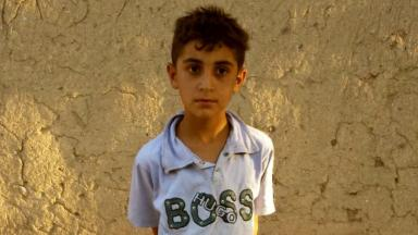 Mohamed Karou: The nine-year-old is trapped in Syria.