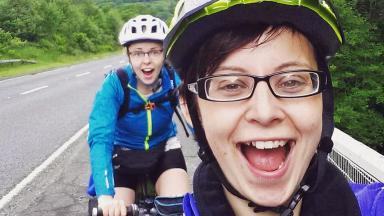 Eilidh Southren: Cyclist was injured on the A93.