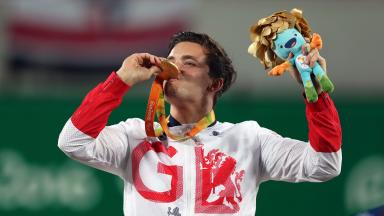 Paralympic gold tops off an incredible year for the man from Alexandria.