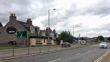 Inverurie Road: Area where attack reportedly happened.