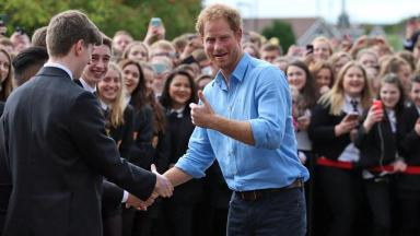 News Now: Prince Harry visits