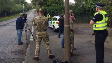 Probe: Investigations ongoing on Colinton Road.