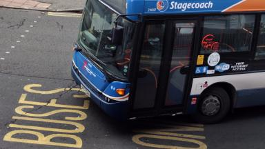 Stagecoach bus generic/stock image from PA