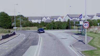 Braehead Crescent: Woman was knocked down by car on Tuesday.