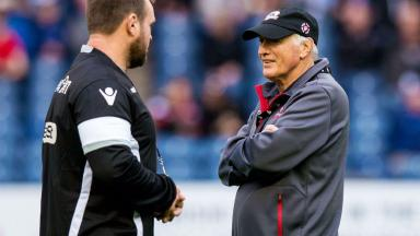 Resignation: Alan Solomons has left Edinburgh.