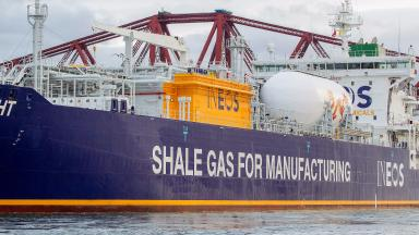 Ineos Insight tanker shale gas