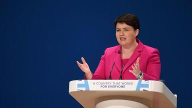 Ruth Davidson at the Conservative Party conference