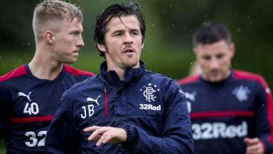Joey Barton, Rangers