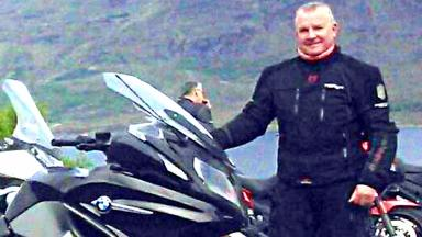 Jim Harvey: The 64-year-old died in the collision on the A77.