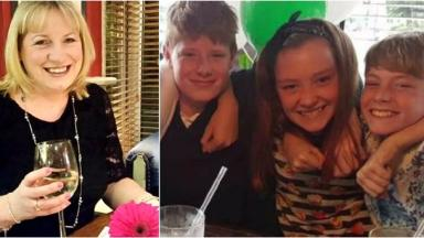 45-year-old Tracy Houghton, her two boys and her partner's daughter were all killed