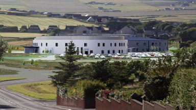 Orkney: Artist's impression of the new hospital in Kirkwall.