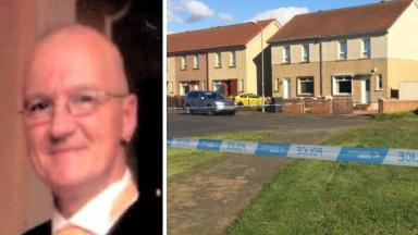 John Smith: The father-of-four died following a disturbance in Stevenston.