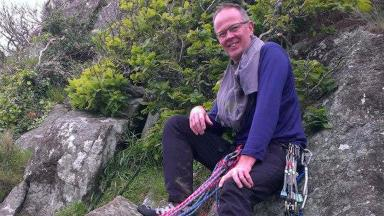 Fraser Cambell: Died climbing UK's tallest mountain.