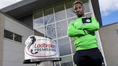 Moussa Dembele claims monthly award