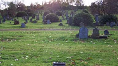 War dead: Headstones to be replaced at Sighthill Cemetery in Glasgow.