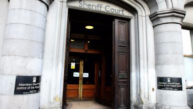 Aberdeen Sheriff Court quality generic image from PA