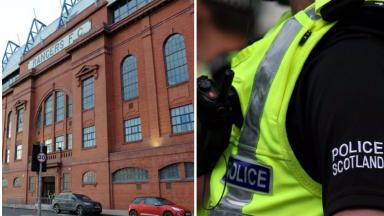 Rangers: The raid at offices of Holman Fenwick Willian was part of fraud probe.