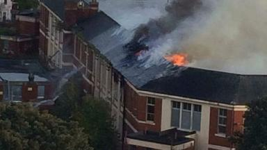 Fire: Six engines have been sent to the blaze.