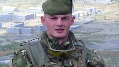 Soldier: Dean Stenhouse was injured in Afghanistan.