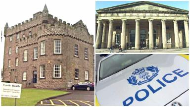 Castle Huntly: David Arthur was on leave from prison.